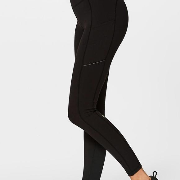 264b5b45f9 lululemon athletica Pants | Lululemon Black Leggings With Pockets ...
